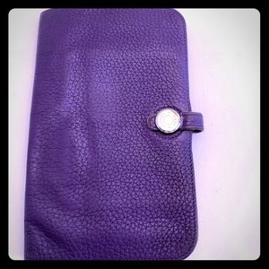 Hermès Togo Leather Dogon Bifold Wallet!